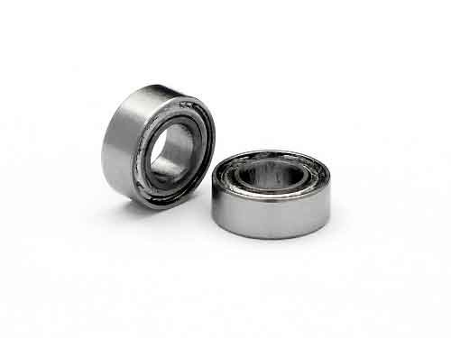 BALL BEARING 4 X 8 X 3MM ZZ (2 PCS)