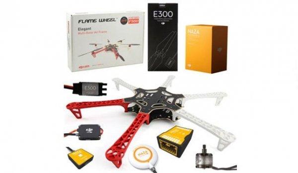 DRON Hexacopter DJI F550 + Naza-M V2 + GPS + E300 (do złożenia)