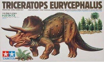 TAMIYA 60201 - 1/35 Triceratops Eurycephalus