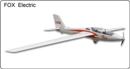 Fox electric FF-B017E Motoszybowiec