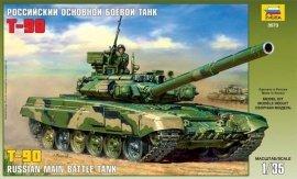ZVEZDA Russian Main Batt le Tank T-90