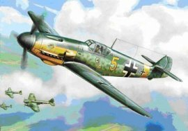 ZVEZDA Messerschmitt Bf 109F-2