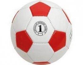 Mini piłka nożna biało - czerwona
