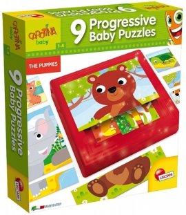 Carotina Baby Progressive Puzzles