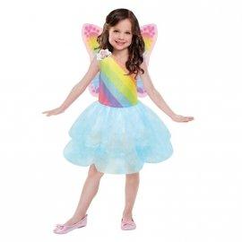 Kostium dziecięcy Barbie sukienka tutu 5-7 lat