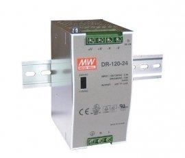 MW DR-120-12 Zasilacz na szynę DIN 12V 120W