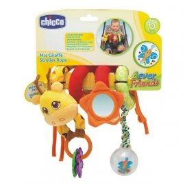 CHICCO 07201 Zabawka do wózka Żyrafa