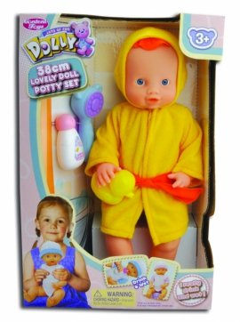 8815 LALKA 38CM DOLL WITH SHOWER HEAD &