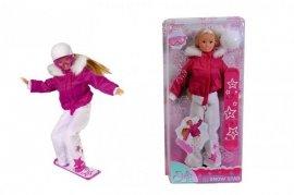 SIMBA 5735723 Steffi Snowboarderka z deską