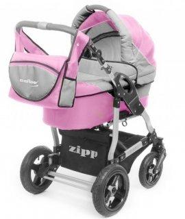 ADBOR ZIPP rozowo-szary Wózek Wielofunkcyjny