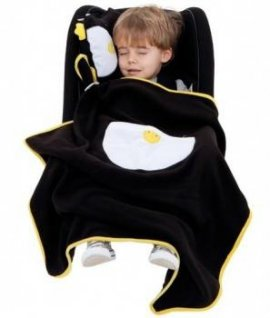 TRUNKI TRUA-0075 Kocyk i poduszeczka snoozihedz pingwin Pippin