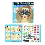 SYMAG KOLOROWANKA MAKE-UP Z NAKLEJKAMI TOI-TOYS TOP DESIGNER 4+