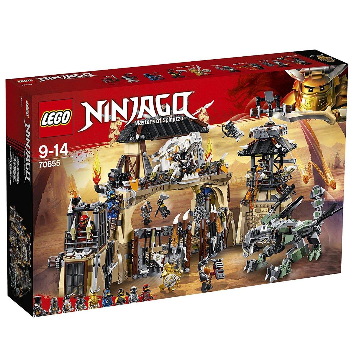Lego Ninjago Smocza Jama 70655 9 Ninjago Lego Malakopl
