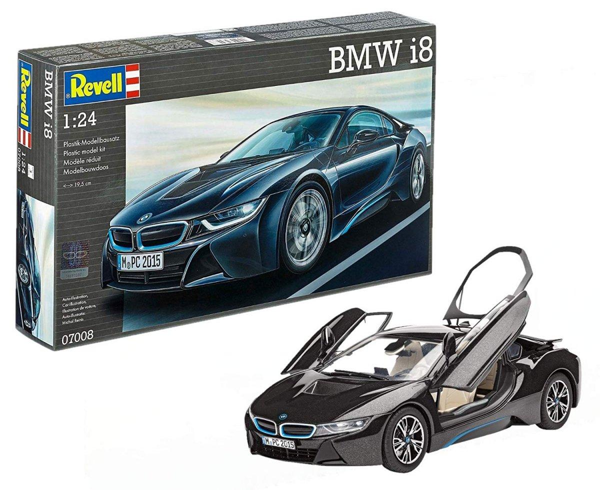 Revell Bmw I8 07008 Skala 1 24 Cywilne Pojazdy Modele