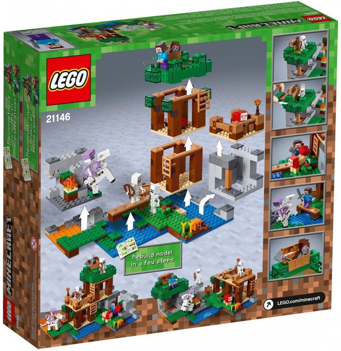 d75bec800 LEGO MINECRAFT ATAK SZKIELETÓW 21146 8+ - Minecraft - LEGO - Malako ...