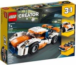 LEGO CREATOR SŁONECZNA WYŚCIGÓWKA 31089 7+