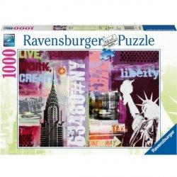 RAVENSBURGER 1000 EL. NEW YORK PUZZLE 12+
