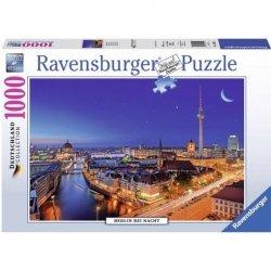 RAVENSBURGER 1000 EL. BERLIN NOCĄ PUZZLE 12+