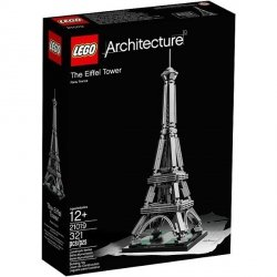 LEGO ARCHITECTURE THE EIFFEL TOWER 21019 12+