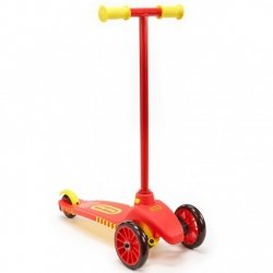 LITTLE TIKES LEAN TO TURN SCOOTER RED/YELLOW 2+