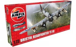 AIRFIX BRISTOL BEAUFIGHTER MK.X LATE/TF.10 05043 SKALA 1:72