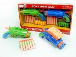 BRIMAREX X-TREME SHOT 2 PISTOLETY + STRZAŁKI 6+