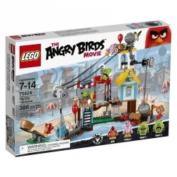 LEGO ANGRY BIRDS DEMOLKA W PIG CITY 75824 7+