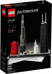 LEGO ARCHITECTURE CHICAGO 21033 12+
