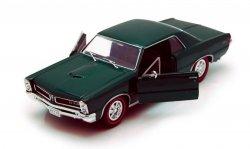 WELLY PONTIAC GTO 1965 ZIELONY SKALA 1:24