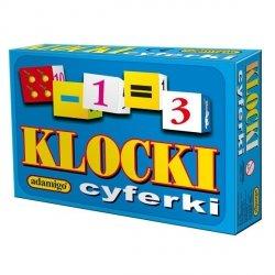 ADAMIGO KLOCKI CYFERKI 5+