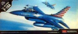 ACADEMY U.S AIR FORCE  F-16A 12444 SKALA 1:72