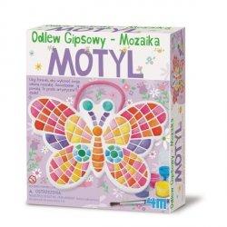 4M ODLEWY GIPSOWE  MOZAIKOWY MOTYL 5+