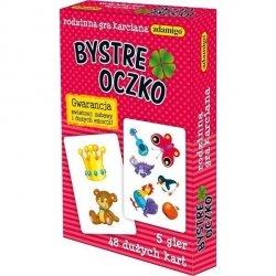 ADAMIGO GRA KARTY BYSTRE OCZKO 3+