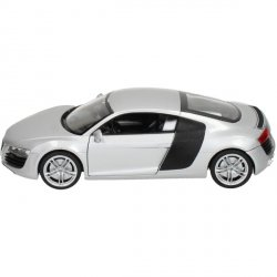 WELLY AUDI R8 SREBRNE SKALA 1:24