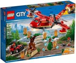 LEGO CITY SAMOLOT STRAŻACKI 60217 6+