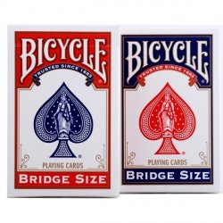 BICYCLE KARTY BRIDGE SIZE STANDARDOWY INDEKS 18+