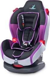 CARETERO FOTELIK SPORT TURBO 9-25 KG PURPLE