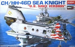 ACADEMY CH/HH-46 SEA KNI GHT U.S. NAVY SKALA 1:48