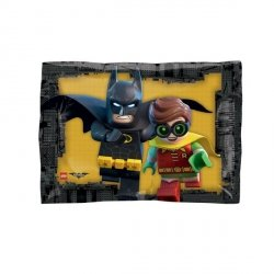 AMSCAN BALON FOLIOWY JUNIOR SHAPE LEGO BATMAN 3+