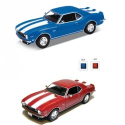 WELLY CHEVROLET CAMARO Z28 1968 SKALA 1:24 3+