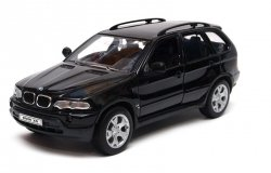 WELLY BMW X5 CZARNY SKALA 1:24