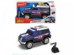 DICKIE AUTO POLICJA SUV CZARNY 30CM 3+