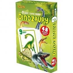 ADAMIGO GRA KARTY SNAP  DINOZAURY 3+
