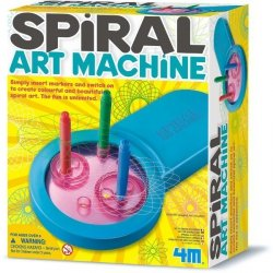 4M SPIROGRAF SPIRAL ART MACHINE 8+