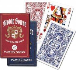 PIATNIK KARTY POPULARNE NOBLE HOUSE TALIA 55 KART 10+