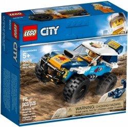 LEGO CITY PUSTYNNA WYŚCIGÓWKA 60218 5+