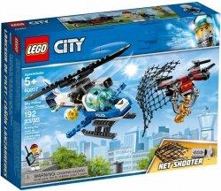 LEGO CITY POŚCIG POLICYJNYM DRONEM 60207 5+