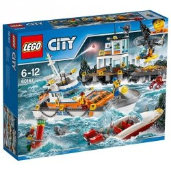 LEGO CITY KWATERA STRAŻY PRZYBRZEŻNEJ 60167 6+
