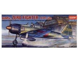 ACADEMY ZERO FIGHTER TYPE 52C (A6M5C) 12493 SKALA 1:72