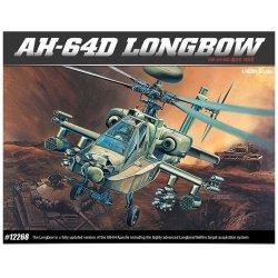 ACADEMY AH-64D LONGBOW SKALA 1:48 8+